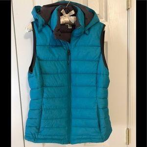 Tangerine Puffer Vest